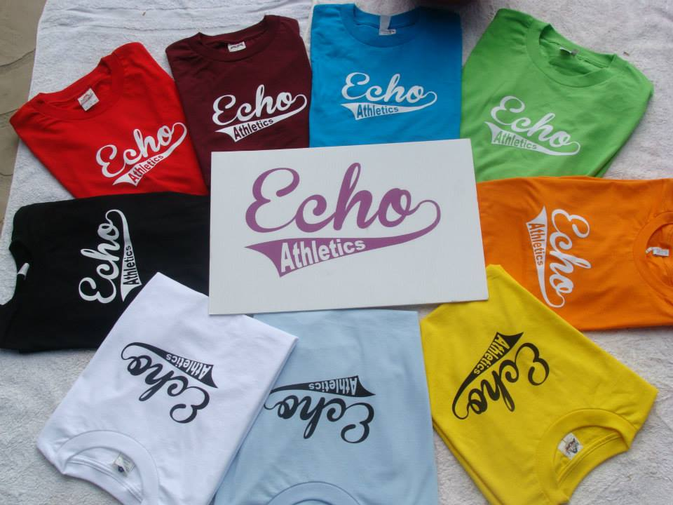 Echo Athletics Sportswear Now Available!!