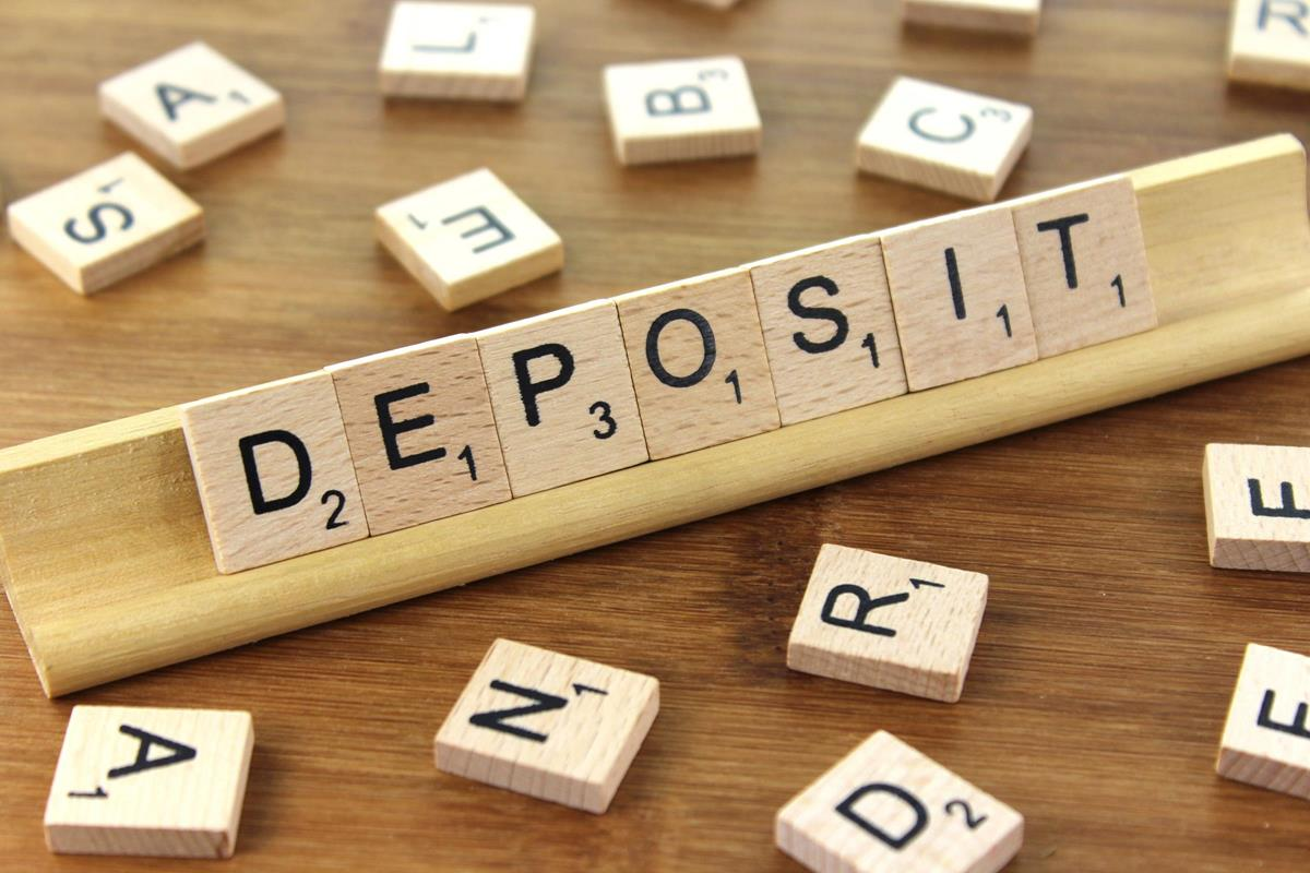 fees with deposit